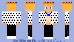 King Dude Minecraft Skin