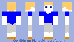 Mannequin Boy Minecraft Skin