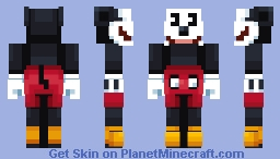 Mickey Mouse (plus 2 other versions) Minecraft Skin