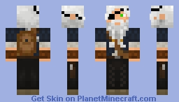 Old Adventurer Minecraft Skin