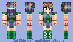 Nature-esque Minecraft Skin