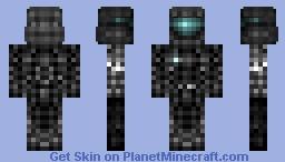 HALO , ODST Soldier Minecraft Skin