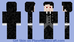 Sebastian (Black Butler) Minecraft Skin