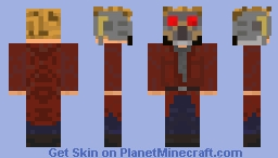 Guardians Of The Galaxy: Star Lord Minecraft Skin