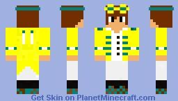 Skylord_benquit (Summer Fun Edition) Minecraft Skin