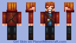 Starlord! (Mask Added in Description) Minecraft Skin