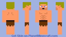 Stranded Survival Minecraft Skin
