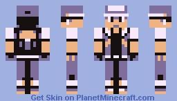 Pokemon Trainer (Red) Minecraft Skin