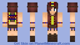 CowBoys and Indians (Indian) 🐴 Mini Game Series Minecraft Skin