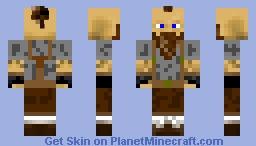 Dwarf Working Man Minecraft Skin