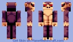Ape (Pixel Art) Minecraft Skin