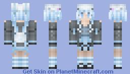 Arctic Bunny Minecraft Skin