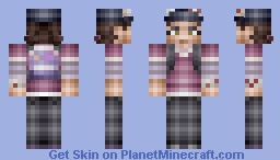 Clementine [The Walking Dead] Minecraft Skin