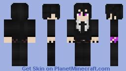 Sebastian Michaelis | Demon Mode Minecraft Skin