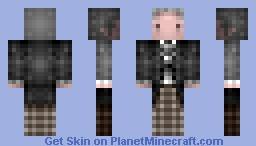1st / Doctor Who, William Hartnell, 1963-1966 Minecraft Skin