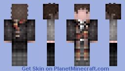4th / Doctor Who, Tom Baker, 1974-1981 Minecraft Skin