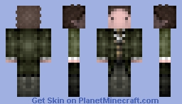 8th / Doctor Who, Paul Mcgann, 1996 Movie Minecraft Skin