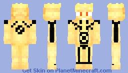 Naruto Bijuu Mode (Skin Request) Minecraft Skin