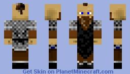 Dwarf Blacksmith Minecraft Skin