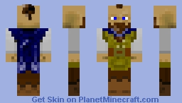Dwarf Noble Minecraft Skin