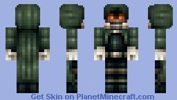 """Death Gun"" (SAO II) Minecraft Skin"
