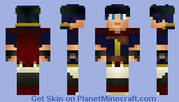 Ike (NEW SUPER SMASH BROS CHARACTER SERIES) Minecraft Skin