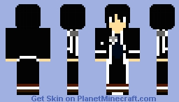 Kirito Minecraft Skin