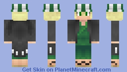 Kisuke Urahara Minecraft Skin