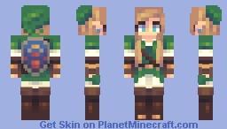 Lady Link Minecraft Skin