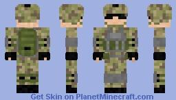 National Guard Minecraft Skin