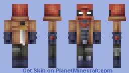 Red Hood Minecraft Skin