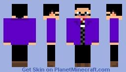 Jeffrey/Jordan Minecraft Skin