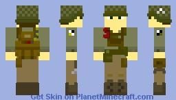 American 101st Airborne (WWII) Minecraft Skin