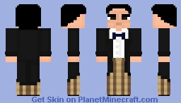 Second Doctor- Patrick Troughton- Doctor Who Skin Series Minecraft Skin