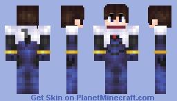 Shinji Ikari (Neon Genesis Evangelion 1.8 Skin) Minecraft