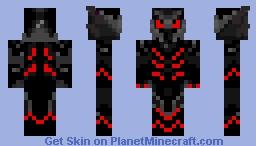 Daedric Armor Minecraft Skin