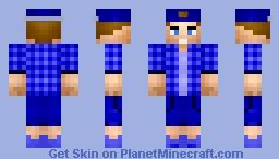 A New T-Shirt! So Nicee! [BLUE] Minecraft Skin