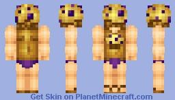 Blueberry Stud Muffin Minecraft Skin