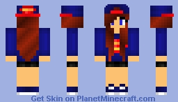 Super Girl Minecraft Skin