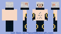 Naked slvysheep Minecraft Skin