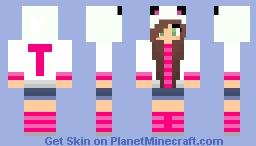 Girl 1 Minecraft Skin