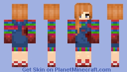 chucky gender bent -Nirvana (bloody version) Minecraft Skin