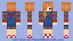 chucky gender bent non bloody version ^_^ Minecraft Skin