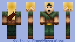 Archer with quiver Minecraft Skin