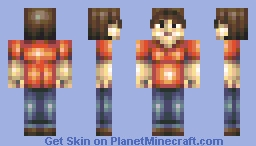 Self Portrait [Me] Minecraft Skin