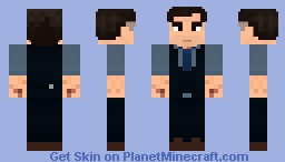 Bruce Wayne (Batman v. Superman: Dawn of Justice) Minecraft