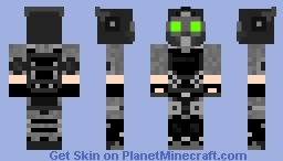 Cloaker (PayDay 2) Minecraft Skin