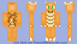 Dragonite Minecraft Skin