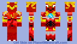 Fusion Dragonoid (Requested Skin) Minecraft Skin