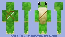Frog ranger Minecraft Skin